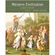 Western Civilization A Brief History by Spielvogel, Jackson J., 9781305633469