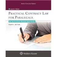 Practical Contract Law for Paralegals An Activities-Based Approach by Vietzen, Laurel A., 9781454873471
