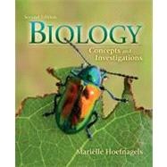 Biology : Concepts and Investigations by Hoefnagels, Mari�lle, 9780073403472