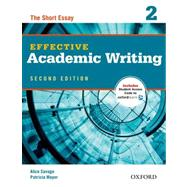 Effective Academic Writing 2e Student Book 2 by Savage, Alice; Mayer, Patricia, 9780194323475