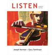Listen by Kerman, Joseph; Tomlinson, Gary, 9780312593476