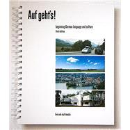 Auf geht's! Beginning German Language and Culture, 3rd edition textbook by Live Oak Multimedia, 9781886553477
