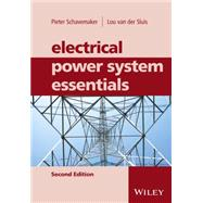 Electrical Power System Essentials by Schavemaker, pieter; Van Der Sluis, Lou, 9781118803479