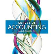 Survey of Accounting by Warren, Carl S., 9781285183480