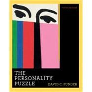 Personality Puzzle 5E Cl by Funder,David, 9780393933482