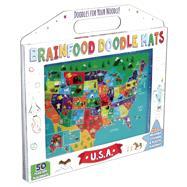 Brainfood Doodle Mats: U.S.A. by DiPerna, Kaitlyn; Cramb, Sara Lynn, 9781626863484