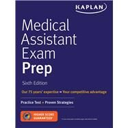 Medical Assistant Exam Prep by Kaplan, 9781506223490