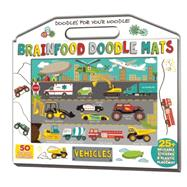 Brainfood Doodle Mats: Vehicles by Dower, Laura; Cramb, Sara Lynn, 9781626863491