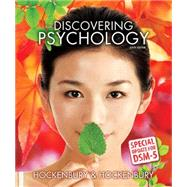 Discovering Psychology with DSM5 Update by Don Hockenbury; Sandra E. Hockenbury, 9781464163494