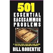 501 Backgammon Problems by Robertie, Bill, 9781580423496