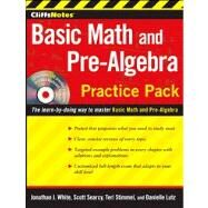CliffsNotes Basic Math and Pre-Algebra Practice Pack by White, Jonathan J.; Searcy, Scott; Stimmel, Teri; Lutz, Danielle, 9780470533499