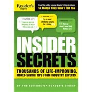 Insider Secrets by Reader's Digest Association, 9781621453499