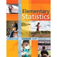 Elementary Statistics by Johnson, Robert R.; Kuby, Patricia J., 9780538733502