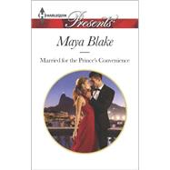 Married for the Prince's Convenience by Blake, Maya, 9780373133505