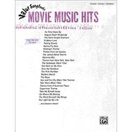 Value Songbooks -- Movie Music Hits : Piano/Vocal/Chords by Alfred Publishing Staff, 9780739063507