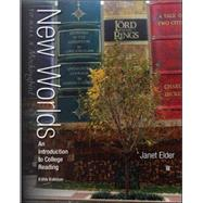 New Worlds: An Introduction to College Reading by Elder, Janet, 9780073513508
