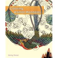 Coloring Animal Mandalas by Piersall, Wendy, 9781612433509