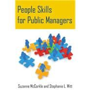 People Skills for Public Managers by Mccorkle; Suzanne, 9780765643513