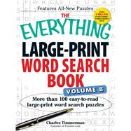 The Everything Large-Print Word Search Book by Timmerman, Charles, 9781440583513
