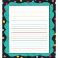 Colorful Chalkboard Notepad by Carson-Dellosa Publishing Company, Inc., 9781483813516