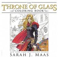 The Throne of Glass Coloring Book by Maas, Sarah J.; Gilbert, Yvonne; Howe, John; Phillips, Craig, 9781681193519