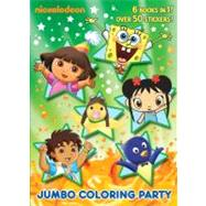 Jumbo Coloring Party (Nick Jr.) by GOLDEN BOOKSGOLDEN BOOKS, 9780375863523