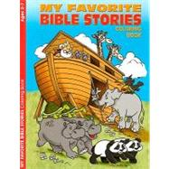 My Favorite Bible Stories Coloring Book by Warner Press, 9781593173524