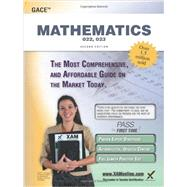 GACE Mathematics 022, 023 Teacher Certification Exam by Wynne, Sharon A., 9781607873525