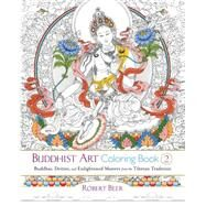 Buddhist Art Coloring Book 2 by Beer, Robert, 9781611803525