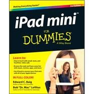 Ipad Mini for Dummies by Baig, Edward C.; Levitus, Bob, 9781118933527