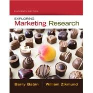 Exploring Marketing Research (with Qualtrics Printed Access Card) by Babin, Barry J.; Zikmund, William G., 9781305263529