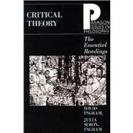 Critical Theory Essential Read by Ingram, David, 9781557783530