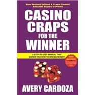 Casino Craps for the Winner by Cardoza, Avery, 9781580423533