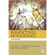 Perspectives in Sociology by Cuff; E.C, 9781138793538