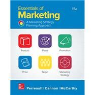 Essentials of Marketing by Perreault, Jr., William; Cannon, Joseph; McCarthy, E. Jerome, 9781259573538