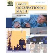 Basic Occupational Math by Newton, David E., 9780825143540