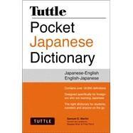 Tuttle Pocket Japanese Dictionary: Japanese-english, English-japanese by Martin, Samuel E.; Khan, Sayaka; Perry, Fred, 9784805313541