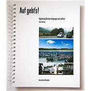 Auf geht's! 3rd edition book with a software download code. by Live Oak Multimedia, 9781886553545