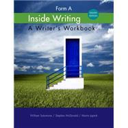 Inside Writing Form A by Salomone, William; McDonald, Stephen; Japtok, Martin, 9781285443546