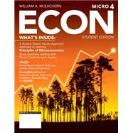 ECON Microeconomics (with Economics CourseMate with eBook Printed Access Card) by McEachern, 9781285423548