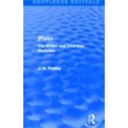 Plato (Routledge Revivals): Plato: The Written and Unwritten Doctrines by Mishan; E. J., 9780415693554