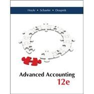 Advanced Accounting with Connect Plus by Hoyle, Joe Ben; Schaefer, Thomas; Doupnik, Timothy, 9781259283567