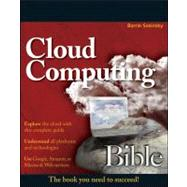Cloud Computing Bible by Sosinsky, Barrie, 9780470903568