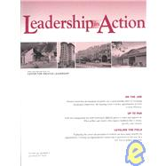 Leadership in Action, Volume 22, No. 3, 2002, by Leadership in Action (LIA); Editor:  Martin Wilcox, 9780787963569