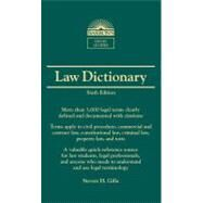 Barron's Law Dictionary by Gifis, Stephen H., 9780764143571