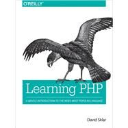 Learning Php by Sklar, David, 9781491933572