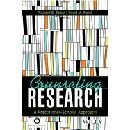 Counseling Research by Balkin, Richard S.; Kleist, David M., 9781556203572