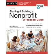Starting & Building a Nonprofit by Pakroo, Peri H., 9781413323573