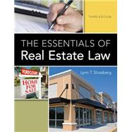 The Essentials of Real Estate Law by Slossberg, Lynn T., 9781133693574