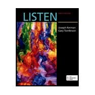 Listen - 6 CD set by Kerman, Joseph; Tomlinson, Gary, 9780393603576